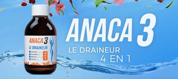 Anaca3 le draineur: Composition, effets secondaires ?