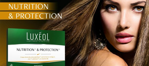 complément alimentaire pour cheveux luxéol nutrition et protection