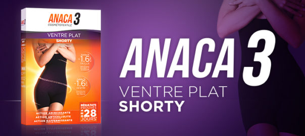 Le shorty ventre plat pour mincir sans effort