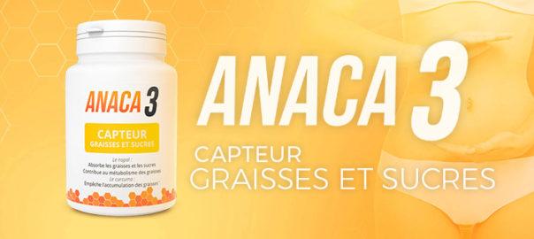 Anaca 3 capteur graisses et sucres Fonctionne t-il vraiment ?
