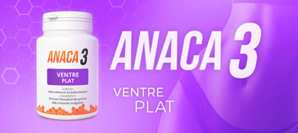 Pack objectif ventre plat Anaca3 : le secret d'un ventre plat