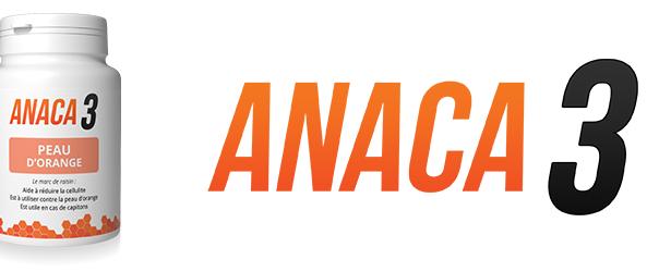 Anaca3 peau d'orange: Composition et posologie