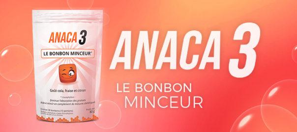 Anaca3 le bonbon minceur : Tout savoir