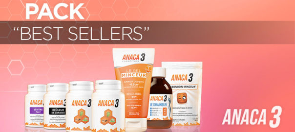 Pack Best-Sellers Anaca3