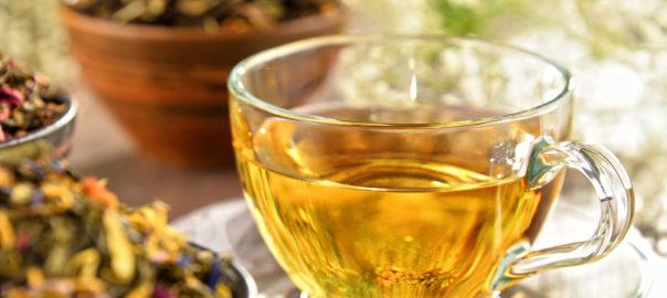 Maigrir avec du thé