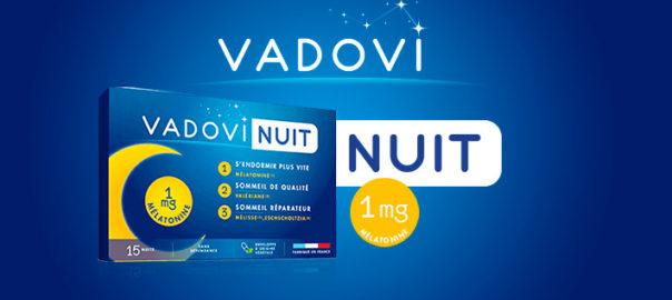 Vadovi Nuit pour retrouver le plaisir de dormir