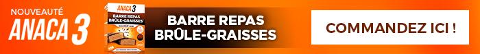 Barre Repas Brûle-Graisses Anaca3 Achat en ligne